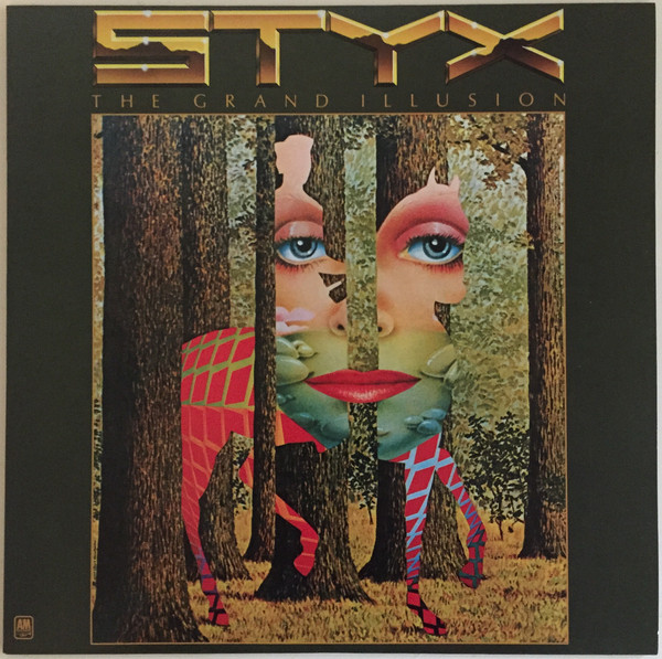 Styx - The Grand Illusion - vinyl record