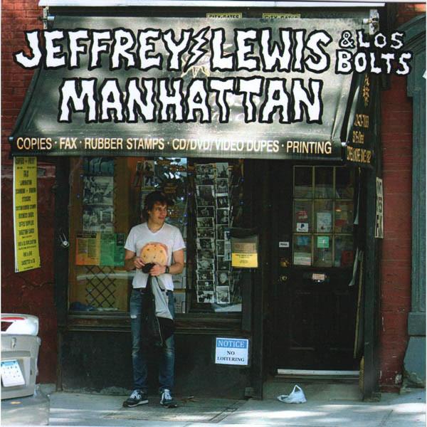 Jeffrey Lewis & Los Bolts - Manhattan - vinyl record