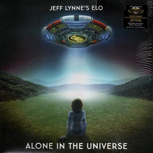 Electric Light Orchestra - Alone In The Universe - vinyl record