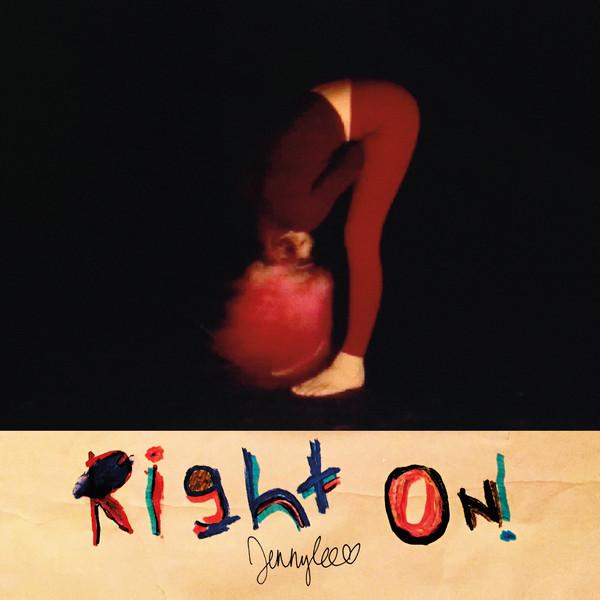 Jennylee - Right On! - vinyl record