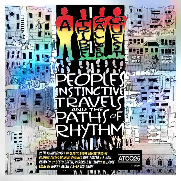 A Tribe Called Quest - People's Instinctive Travels And The Paths Of Rhythm - vinyl record
