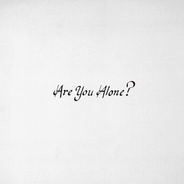 Majical Cloudz - Are You Alone? - vinyl record