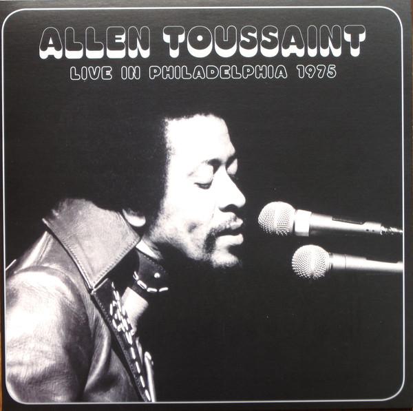 Allen Toussaint - Live In Philadelphia 1975 - vinyl record