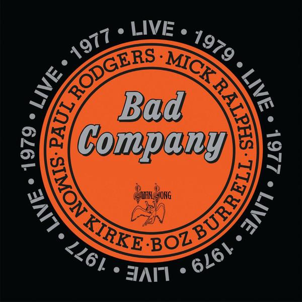 Bad Company (3) - Live 1977 - vinyl record