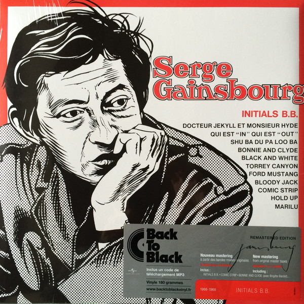 Serge Gainsbourg - Initials B.B. - vinyl record