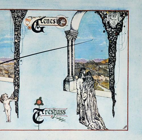Genesis - Trespass - vinyl record