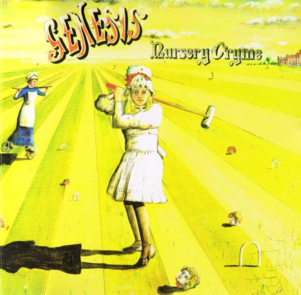 Genesis - Nursery Cryme - vinyl record
