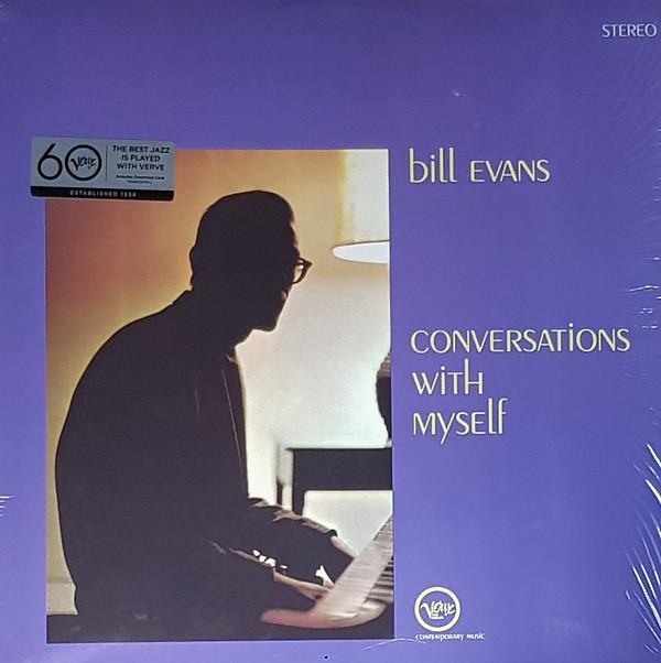 Bill Evans - Conversations With Myself - vinyl record
