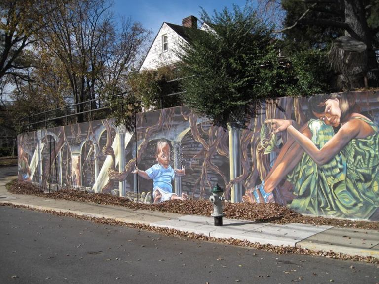 Takoma Park Heading Towards Shutdown Over Mural Wall Funding