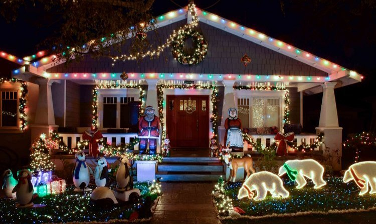 Dividends Finally Pay Off for Takoma Man Who Left Christmas Lights Up All Year