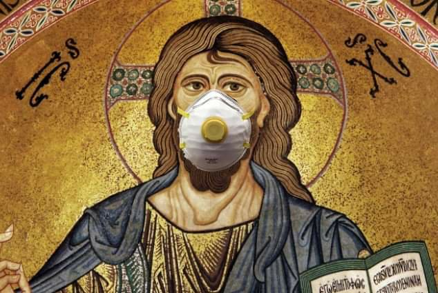 Jesus Emerges From Tomb, Sees Shadow, Announces Six More Weeks of Quarantine