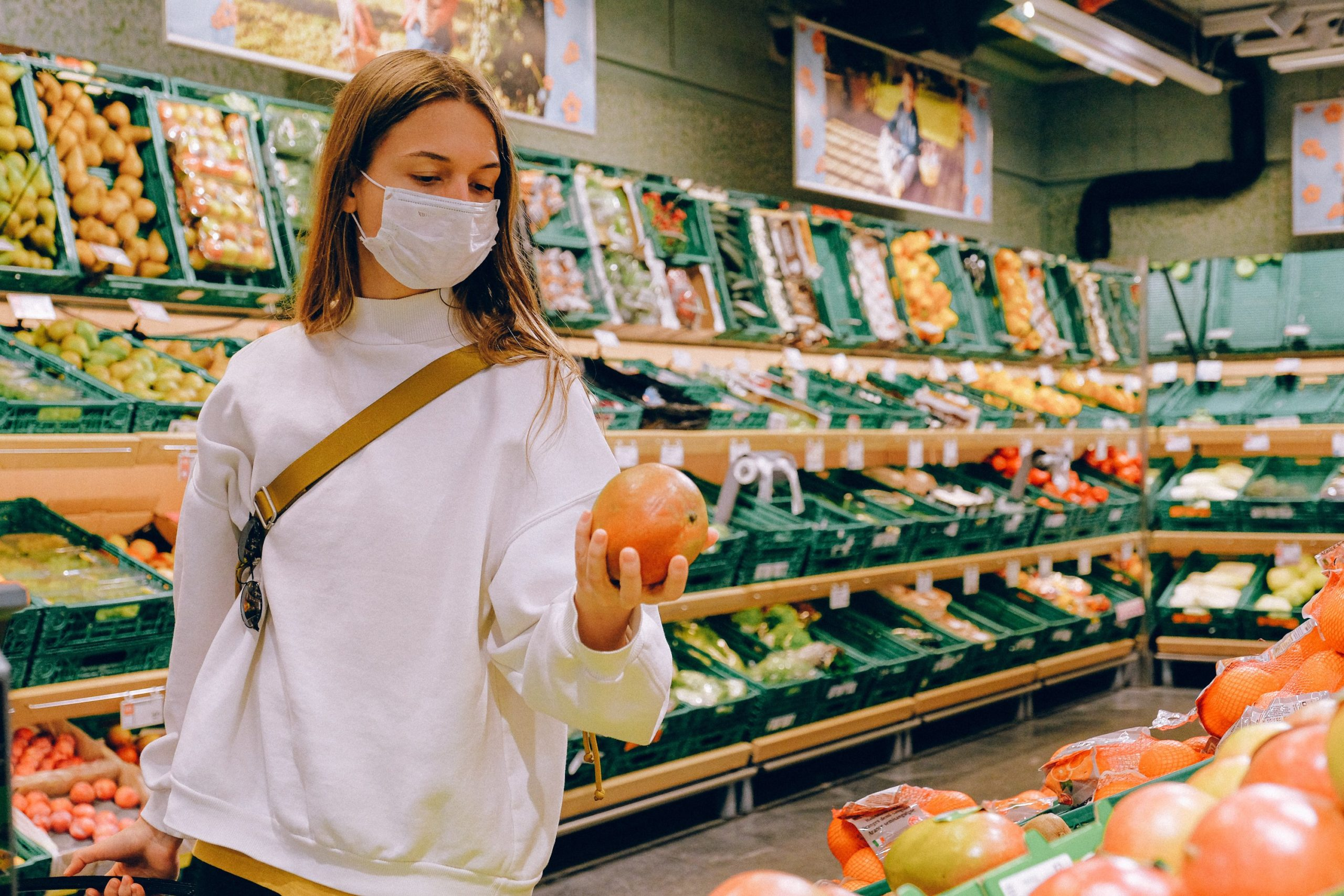 Organic Grocery store shopping DC Satire racism liberal White Fragility