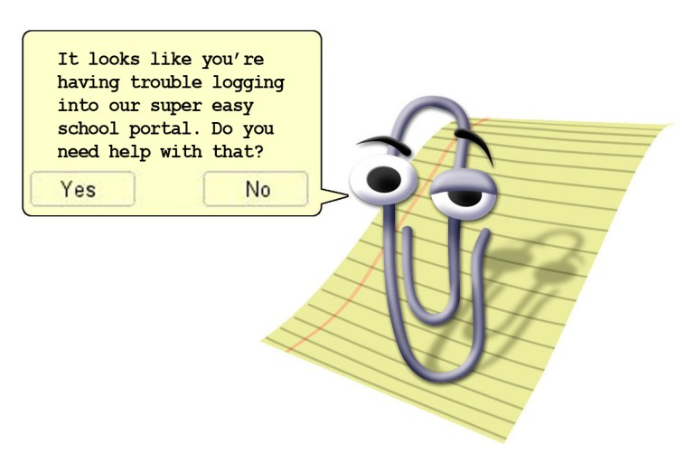 Public School System Brings Back 'Clippy' to Help Parents Navigate Online Classroom Portal