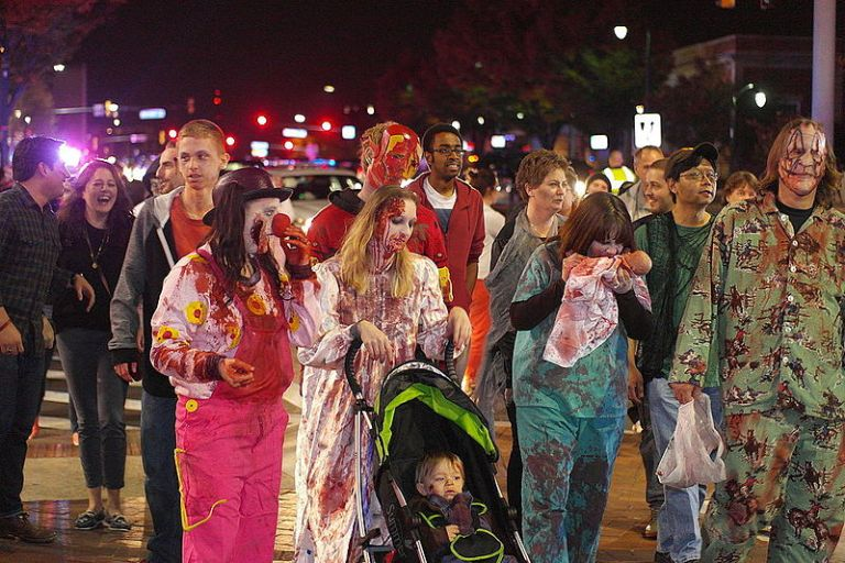 Zombies Rise in Takoma Park, Complain About City Becoming Too Alive