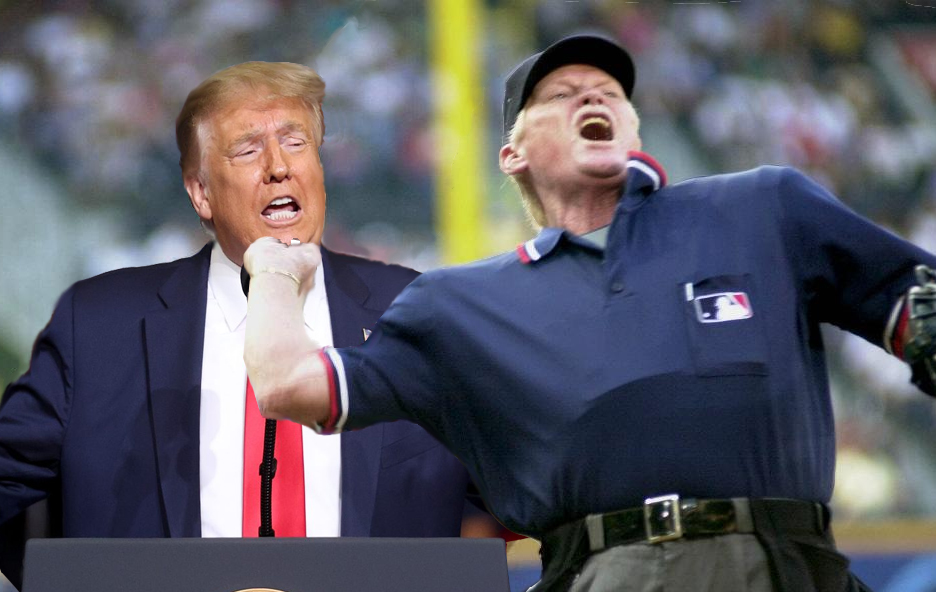 Trump Angry With Umpires For Letting Baseball Game Enter the 9th Inning