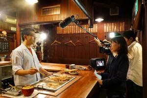 関東煮についてインタビューを受けています