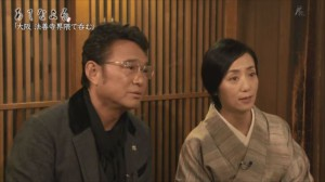 NHK「あてなよる」の俳優 船越英一郎さんと料理研究家の大原千鶴さん