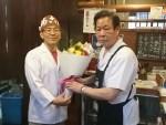 たこ梅人生40年以上!山﨑さんの卒業の日です