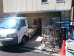4日半にわたる仕込み場の改修工事が始まりました!