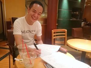 チェンジ・エージェント社の江口潤さんと「行動探究(Action Inquiry)入門編」の研修設計打合せ中!