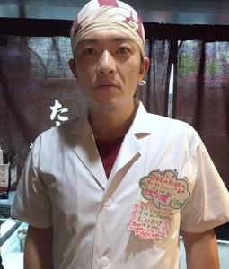女心がわかる(らしい)新梅田食道街 たこ梅 北店の「北川」さんです!
