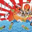 七福神宝船図2017