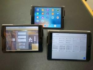 お店用の新しい iPad mini4