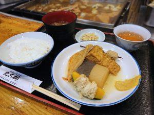 たこ梅東店(ホワイティうめだ)の関東煮(かんとだき/おでん)定食