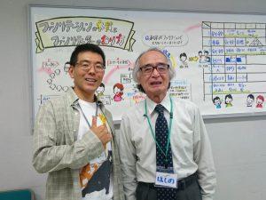 「ファシリテーションの本質とファシリテーターのあり方」で星野欣生先生と!