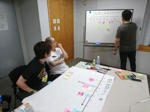 取り組むイベントについて、松野先生がサポート