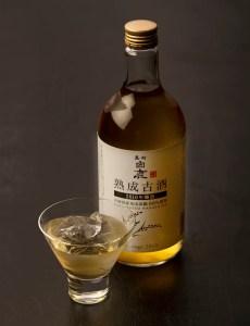 山田錦で醸した酒を10年寝かせた「熟成古酒」