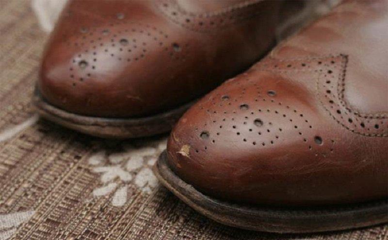 царапины на обуви фото