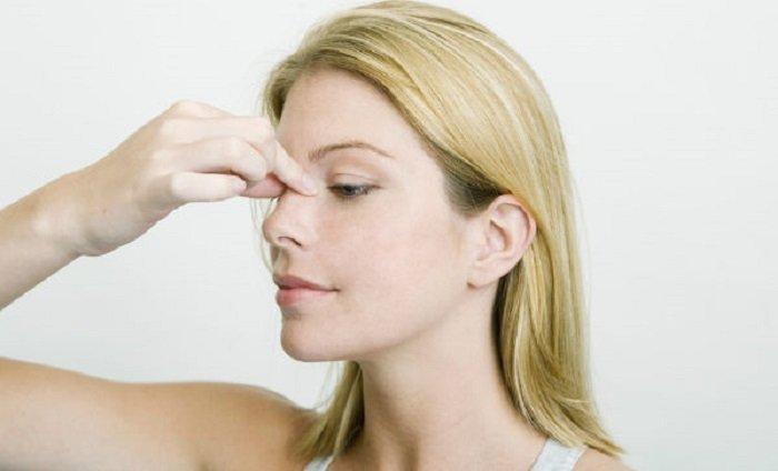 как правильно делать точечный массаж при гайморите