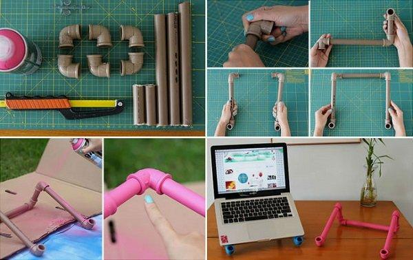 что сделать из пластиковых труб