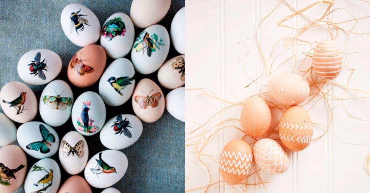пасхальные яйца покрасить