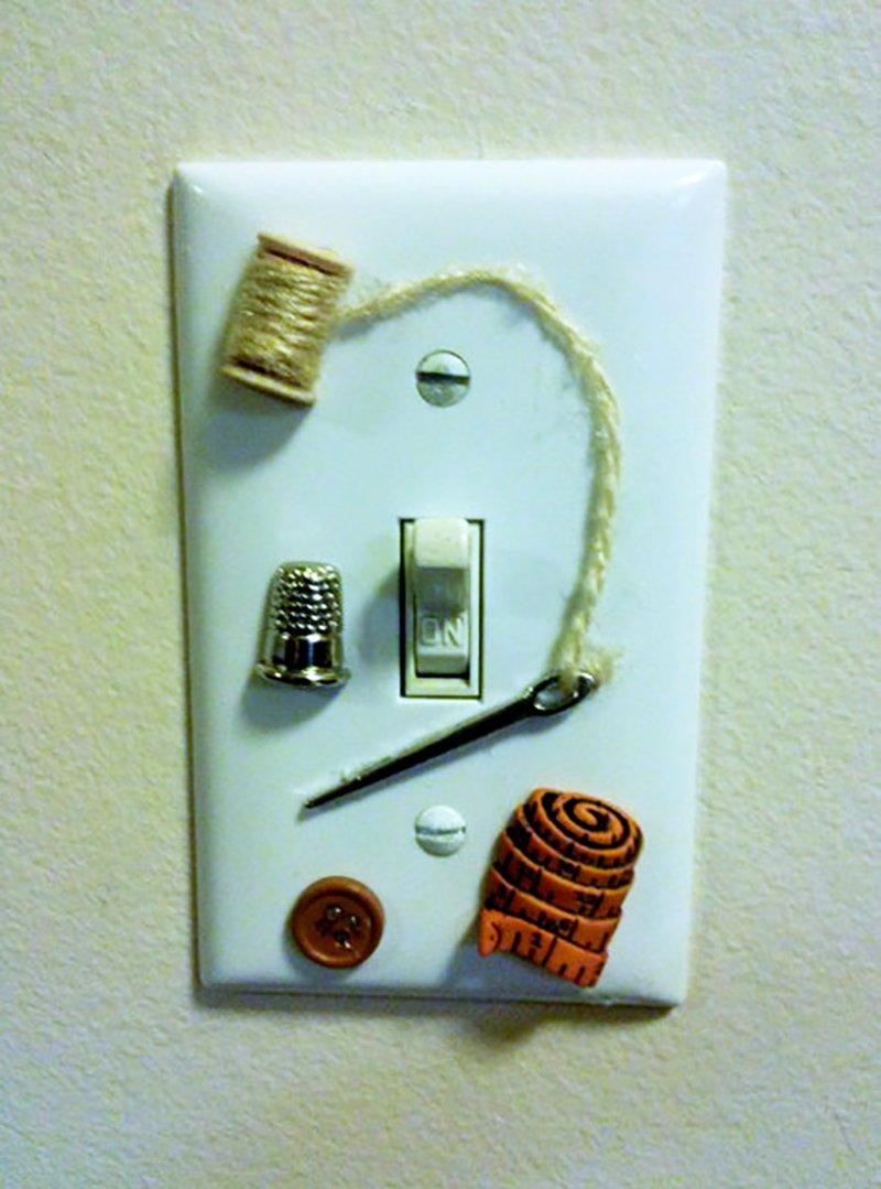 художественная роспись выключателей