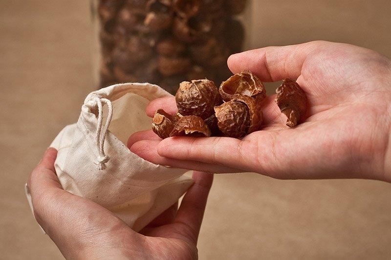 мыльные орехи как использовать