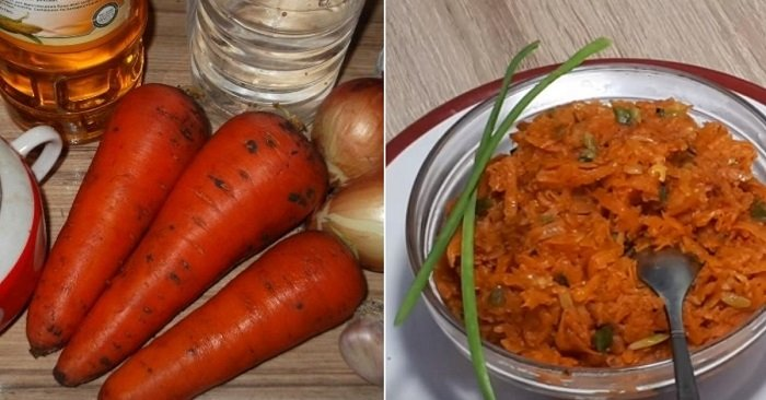 морковная икра