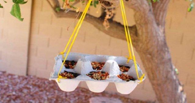 поделки из бумажных лотков для яиц