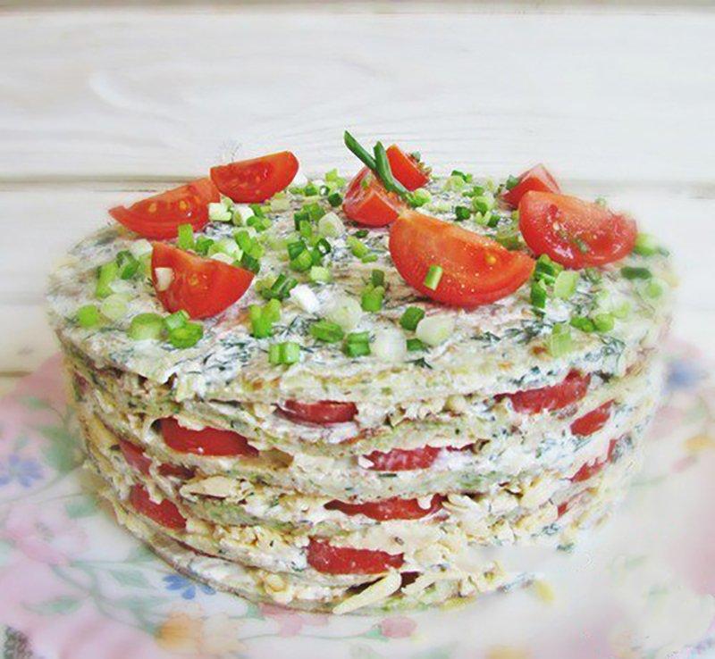 вкусный кабачковый торт