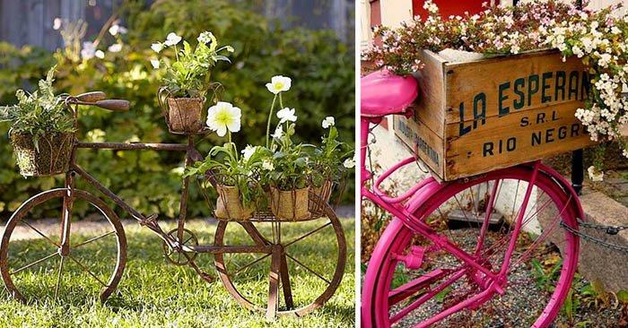 как оформить клумбу в саду