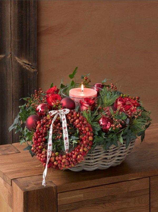 как украсить обычные свечи