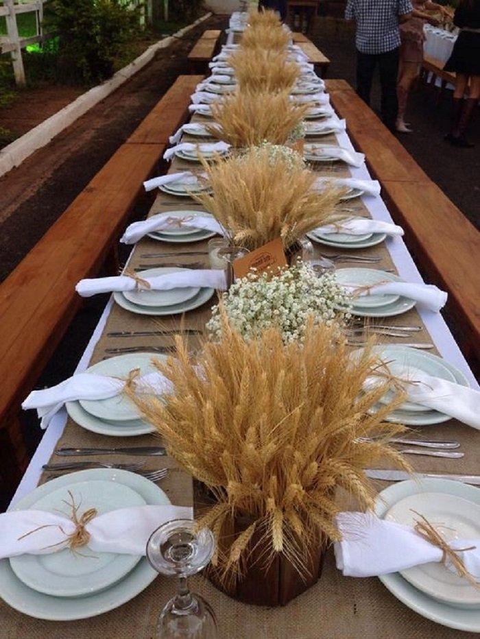 поделки из пшеничных колосков