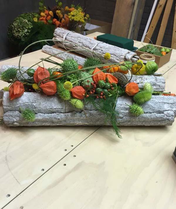 осенние композиции из овощей и фруктов