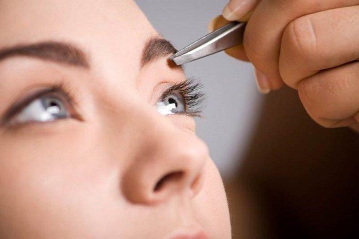 быстрый макияж для увеличения глаз