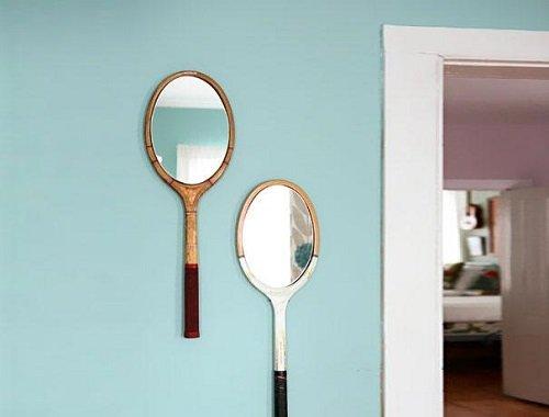 зеркало из ракетки