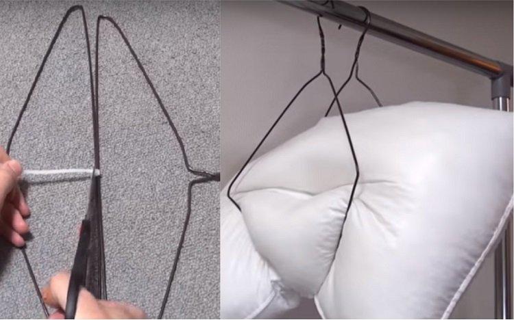 использование вешалки