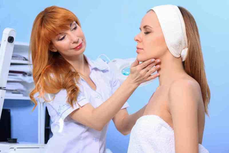 у косметолога фото