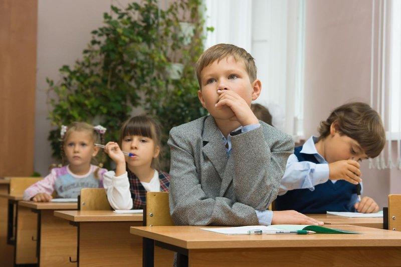 дети на уроках
