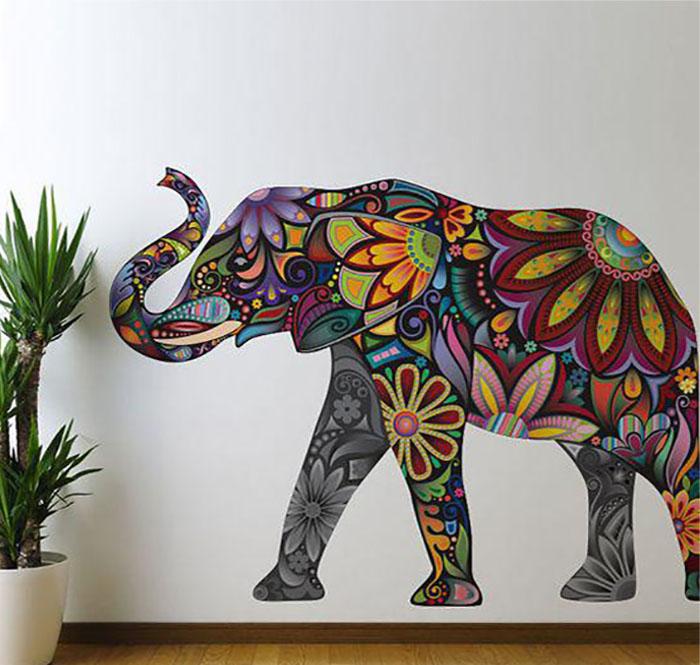 слон в восточном стиле